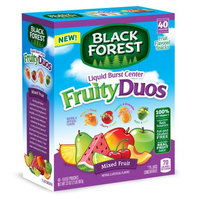Ferrara Candy Company Black Forest Fruity Duos Fruit Snacks, 0.8 Ounce Bag, Pack of 40