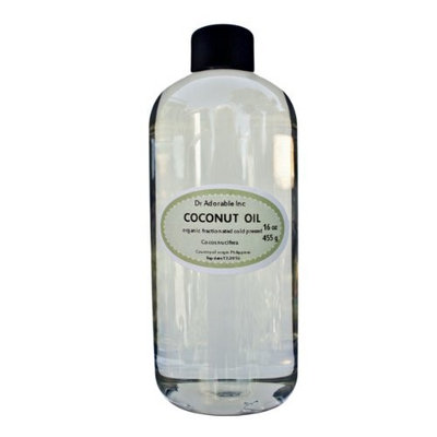 Organic Pure Fractionated Coconut Oil 48 Oz/3 Pints