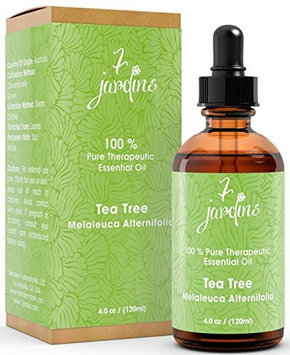 7 Jardins 100% Pure Essential Oil Therapeutic Grade Aromatherapy Tea Tree 4 oz