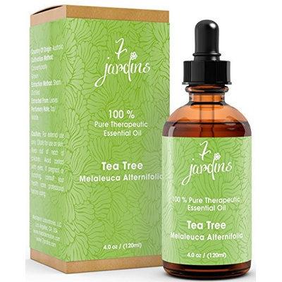 7 Jardins 100% Pure Essential Oil Therapeutic Grade Aromatherapy Tea Tree 4 oz
