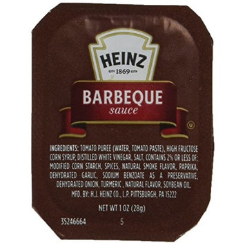 Heinz Barbecue Sauce Dunk Cup, 100 Count