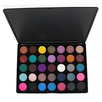 Eyeshadow Palette Makeup Palette IS'MINE 35 Colors Palette Eye Shadow Waterproof Powder Cosmetics