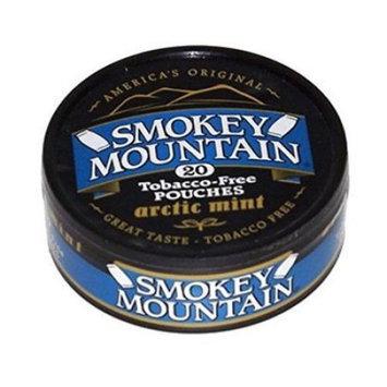Smokey Mountain Snuff - Arctic Mint POUCH - Tobacco Free, Nicotine Free
