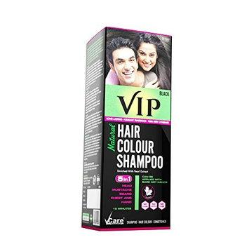 VIP 3 in 1 Hair Color Shampoo (180 ml / 6.08 fl oz)