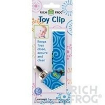 Rich Frog Toy Clip for Baby, 10