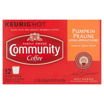 Community Coffee Pumpkin Praline Coffee Single-Serve Cups, 12 count