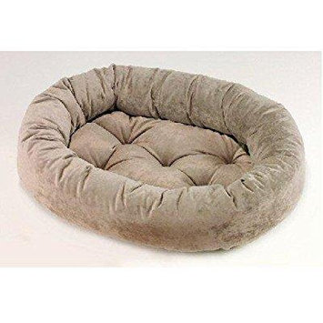 Bowsers Platinum Series Microvelvet Donut Dog Bed, Large - 42L x 32W