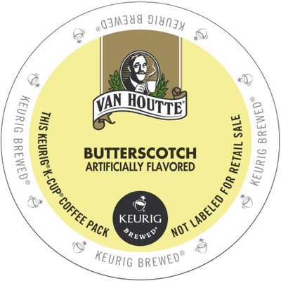 Van Houtte Butterscotch Coffee, K-Cup Portion Pack for Keurig Brewers
