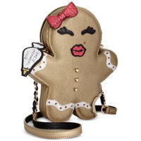 Betsey Johnson Gingerbread Cookie Crossbody