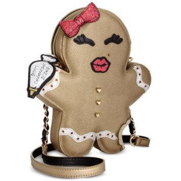 Betsey Johnson Gingerbread Cookie Crossbody