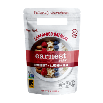 Earnest Eats Hot & Fit Oatmeal, American Blend, 5 Lb
