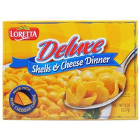 Loretta 1535 Deluxe Shells & Cheese Dinner Case Of 12
