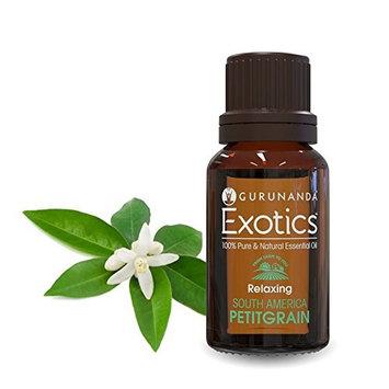 Petitgrain Essential Oil - GuruNanda Pure Therapeutic Grade Exotic Aromatherapy Oil for Diffuser - Sweet and Floral Aroma - Skin Health - Sleep Aid - Deodorant - Antibacterial - 10ml