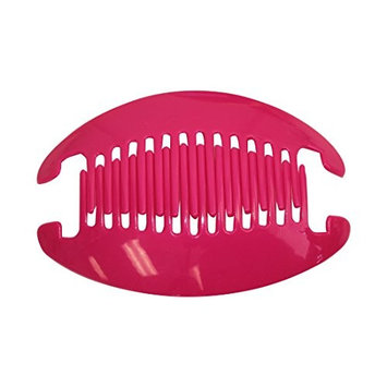 Bright Green 6.5 Inch Banana Clip Hair Clincher Interlocking Two Sides Hair Comb