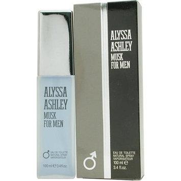 Alyssa Ashley Musk By Alyssa Ashley For Men. Eau De Toilette Spray 3.4 Ounces