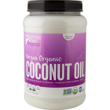 BetterBody Foods Organic Virgin Coconut Oil, 82 Ounce Jar [Virgin Organic]
