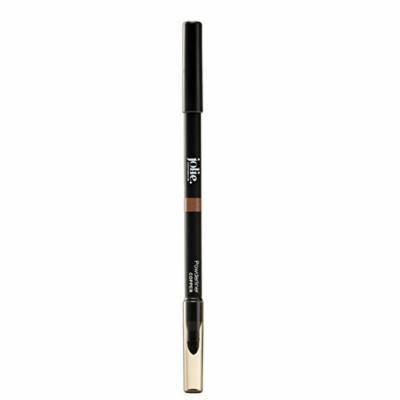 Jolie Powderliner Pencil Eye Liner W/ Smudge Tip for Soft Smokey Eye (Copper)