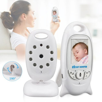 MOUSAND Wireless Video Baby Monitor with Digital Camera and Audio, Auto Night Vision, Long Range, High Capacity Battery, Two Way Talk & Intelligent Temperature Monitoring