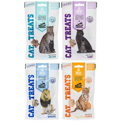 Big Cat Rescue 840235138006 Freeze Dried Treat Cats Sampler Pack