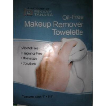 MT-26 Individually Wrapped Oil-Free Makeup Remover Towelette 250/cs