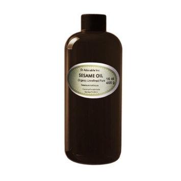 Sesame OIL Unrefined Cold Pressed Organic 16 Oz /1 Pint