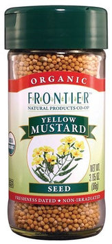 Frontier Co-Op Organic Yellow Mustard Seed - 3.05 oz - 2 pc (Pack of 2)