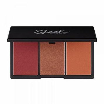 Sleek Makeup - Blush by 3 Palette - SUGAR - for Medium to Dark Skin Tones