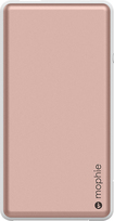 Mophie - Powerstation Plus 4000 Mah Portable Charger For Most USB-enabled Devices - Rose Gold