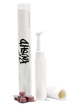 POLISH'D Premium Tooth Polishing Kit w/ Professional Strength Tooth Polish - Bubble Gum (Coarse Grit)