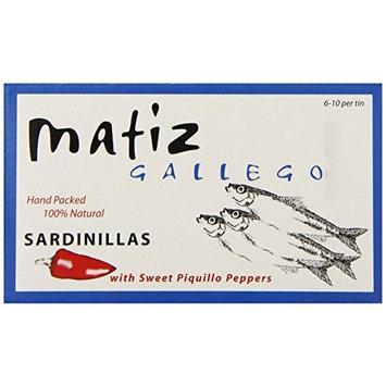Matiz Sardinillas with Piquillo Peppers - Baby Sardines