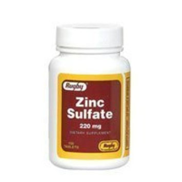 Rugby ZINC SULFATE TABS 220MG -(50MG Active Zinc Sulfate per tablet )
