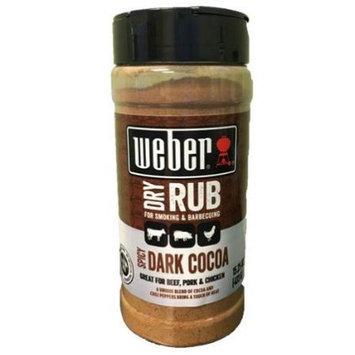 Weber Spicy Dark Cocoa Rub