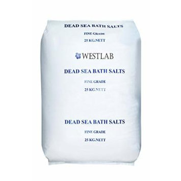 Dead Sea Salt 55lb (Fine)(1 x Large Bag)