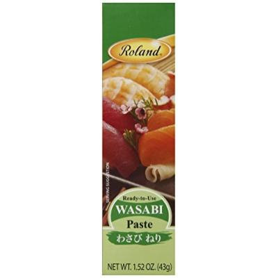 Roland Wasabi Paste, 1.52-Ounce Tubes (Pack of 12)
