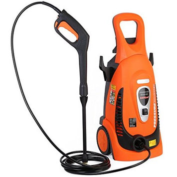 Ivation Electric Pressure Washer 2200 PSI 1.8 GPM with Power Hose Nozzle Gun and Turbo Wand, All Par