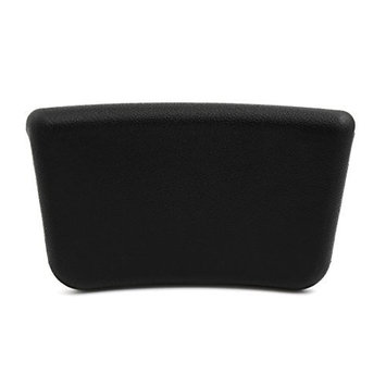 uxcell 9.8 Inch x 6 Inch Foam Bath Spa Pillow Cushion for Hot Tub w/Suction Cup Black