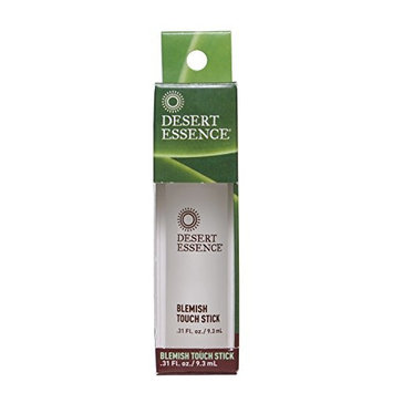 Desert Essence Organic Herbal Blemish Touch Stick with Natural Extracts & Essential Oils - .31 fl oz - 2 Pack - Antiseptic Tea Tree Oil - Chamomile - Lavender - Palmarosa - Clear & Radiant Skin