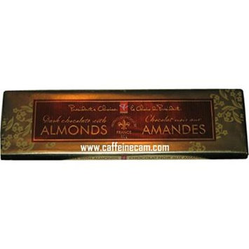 President's Choice Candy Bar, 300 Grams/10.6 Ounces, Dark Chocolate with Almonds