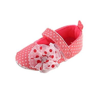 For 0-18 Months Girls,Clode® Cute Toddler Newborn Baby Girls Dot Ballet Shoes Soft Sole Prewalker Crib Shoes