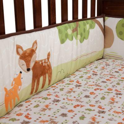 Lambs & Ivy Woodland Tales 4-Piece Crib Bumper