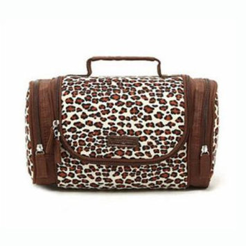 H:oter Women & Girls Cosmetic Bag Makeup Pouch Case Toiletry Bag Make-Up Bag, Gift Ideas--Colors Various, Price/Piece - Coffee