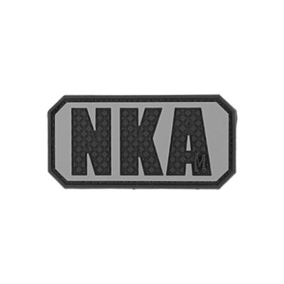 Pvc Patch:bnkas Maxpedition PVC PATCH: BNKAS NKA No Known Allergies Patch 2'x1' SWAT