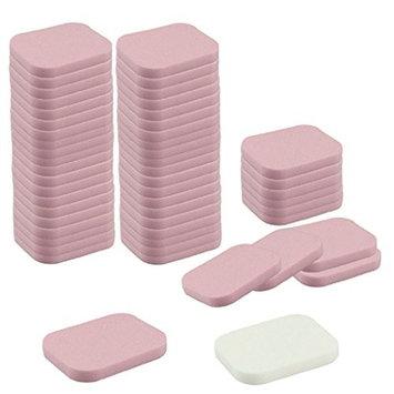 LUNIWEI Beauty 50PCS Facial Sponge Powder Puff