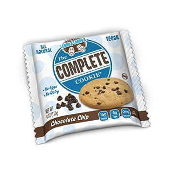 Lenny & Larry's The Complete Cookie, White Chocolate Macadamia, Soft Baked, 16g Plant Protein, Vegan, 4-Ounce Cookies (Pack of 12)