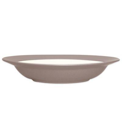 Noritake Colorwave Pasta/Rim Soup Bowl in Clay