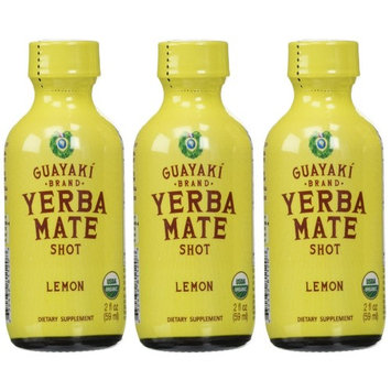 Guayaki Organic Lemon Energy Shot (24x2oz)