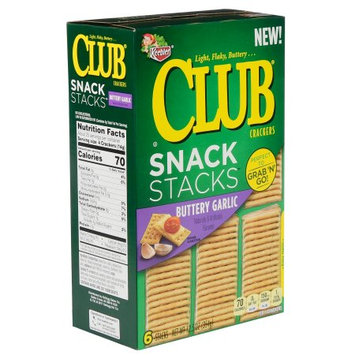 Club® Snack Stacks™ Buttery Garlic Crackers 12.5 oz. Box