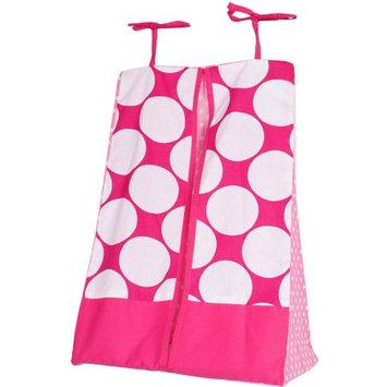 Bacati MixNMatch Pink Diaper Stacker