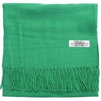 Falari Men Women Unisex Cashmere Feel Scarf 78' X 12' Solid Color Irish Green
