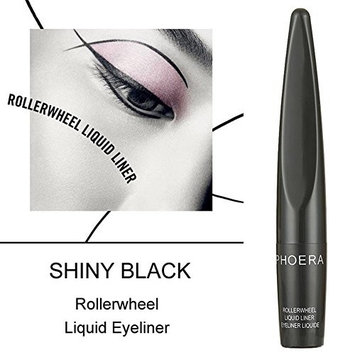 JaneDream Pro Makeup Black Roller Wheel Eyeliner Fast Dry Liquid Eye Liner Pen Waterproof Beauty Cosmetic